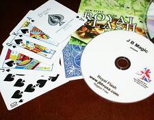 Royal Flash (Jb Magic) -visual poker hand change -Zapped for 21st cen. Tmgs