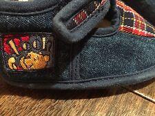 Disney Winnie The Pooh Soft Pre-Walker Shoes Blue 6-12 M Unisex Denim