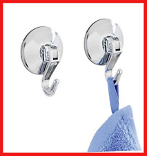 """Wenko """"Lever Suction Hook, Chrome, Small, 2-Piece"""