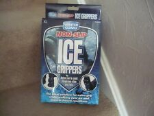 NON-SLIP ICE GRIPPERS FOR SHOES AND BOOTS SIZE XL NEVER USED IN BOX