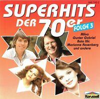 (CD) Superhits Der 70er - Folge 3 - Dieter Hallervorden & Helga Feddersen, u.a.
