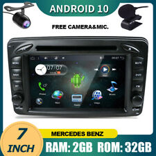 Car Stereo For Mercedes Benz W209 W203 W168 Viano W639 Vito W210 GPS Android 10