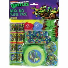 Teenage Mutant Ninja Turtles 48 piece Birthday Party Favor Mega Value Pack