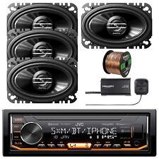 In-Dash Stereo Receiver w/Pioneer Car SPKR, Enrock Wire & SXV300-V1 Radio Tuner