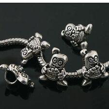 10pcs Tibetan Silver cartoon man spacer Beads Fit European charm Bracelet  L0028