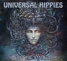 """UNIVERSAL HIPPIES: """"ASTRAL VISIONS"""" CD (Awesome Instrumental Heavy Guitar Disc)"""