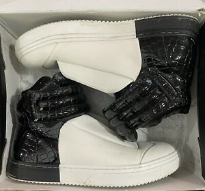 SNKR PROJECT 10.5 BLK/WHT (Hollywood SNKR1704) Shoes
