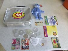 *Look* Lovely Ty Beanie Baby Clubby Ii Kit Bag with Accessories Free P+P