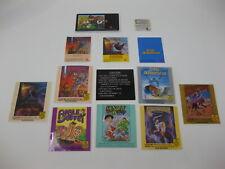 Nintendo NES SNES GENESIS GAME BOY Wisdom Tree Label Sticker Lot Noah's Ark NKJ