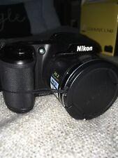 Nikon Coolpix L340 20.2MP Compact Digital Camera - Black