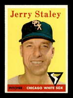1958 Topps #412 Gerry Staley  EX/EX+ X1490509
