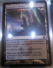MtG - 1x Darkslick Shores (Scars of Mirrodin)