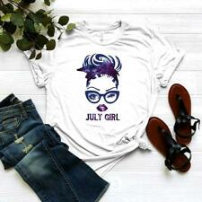 July Girl Shirt - Born in July Clothing - July Birthday Gift - Birthday Queen