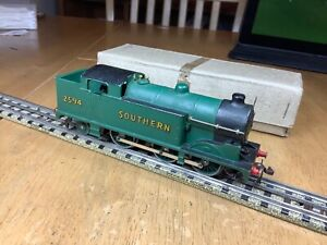 Hornby Dublo 3 Rail EDL7 Southern 0-6-2 Tank 2594 Horseshoe Serviced & remaged