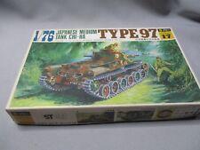 AH997 FUJIMI WWII WW2 JAPANESE MEDIUM TANK CHI-HA TYPE 97 WA17 1/76 OO DIORAMA