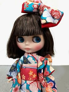 One doll two outfit Neo Blythe Doll Sea Sailor See With Extra Kimono