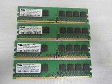 2GB Major Brand(4x512MB) PC2-5300U DDR2 667MHz Low Density Desktop Ram Memory