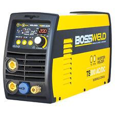 Bossweld TS200 TIG STICK INVERTER WELDER 200Amp AC/DC, 15Amp Plug *Aust Brand