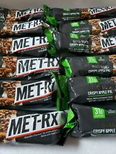 MET-Rx Big 100 Colossal Protein Bars x 10 Crispy Apple Pie best by 06/2021