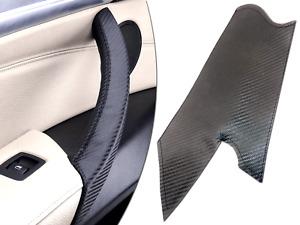 Carbon Front Left Passenger Inner Door Handle Cover for BMW E70 X5 2006-2013 UK