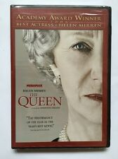 The Queen (DVD, 2007) Dame Helen Mirren Brand NEW Sealed Elizabeth II Cromwell