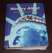 History Alive, Student Edition, Decent condition. ISBN 978-1-934534-519 hardback