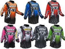 Wulfsport Wulf Arena Cub Motocross Quad Jersey Kids Top Childrens Shirt Junior