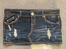 Almost Famous Jean Skirt Size 13