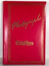 "Photo Album Carillon Hotel Miami Beach 8"" Vtg Mid Century Vinyl Souvenir"
