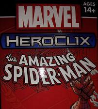 HEROCLIX AMAZING SPIDER-MAN Spider-Man 001 A B C LOT X 3 (Avengers, Scientist)