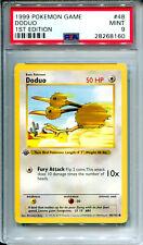 Doduo 48/102 Pokemon Card 1st Edition Shadowless Base Set - PSA 9
