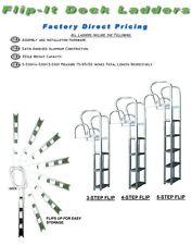 ***NEW STYLE 5-Step Flip-It Dock/Swim/Pontoon Ladder