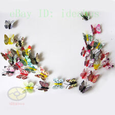 """10PCS MIXED Refrigerator Magnet NOCTILUCENT BUTTERFLY Wingspan 9cm=3.5"""""""