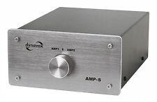 Dynavox AMPLIFICATEUR / Commutateur d'enceintes argent Amp - S