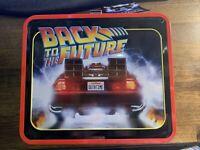 Funko 35th Anniversary DeLorean Time Machine Back to the Future Tin Lunchbox 1:1