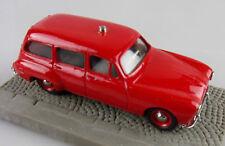 Classiques CCC 1/43e: Renault  Domaine pompiers d'Amiens avec decals et socle