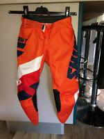 pantalon motocross SHIFT youth whit3 tarmac taille 6/7 ans (Y22 US) valeur 75€