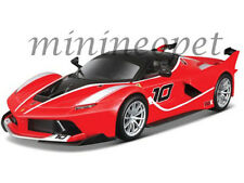 BBURAGO 18-26301 FERRARI RACING FXX K #10 1/24 DIECAST MODEL CAR RED