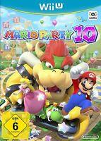 Nintendo Wii U Spiel - Mario Party 10 DE/EN mit OVP