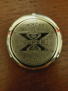 Excelsior Henderson Motorcycle Stainless Steel Oil Fill Medalion Other NEW