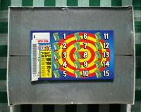 """600ct $1./""""THREE FOR ALL/"""" 15W SEAL$250 Bingo Tip Pull Tab Jar Ticket PROFIT $171"""