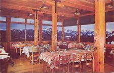 Vintage Postcard Interior Dining Room Nyack Lodge, Emigrant Gap CA Placer County