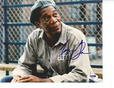 Morgan Freeman signed 8x10 photo PSA DNA COA