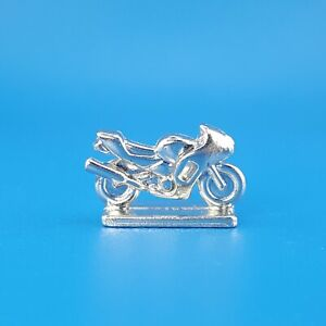 Scene It? Movie 2005 Motorcycle Bike Silver Token Replacement Game Piece