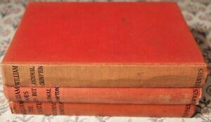 3 books 1940s William Does His Bit William, William The Pirate Richmal Crompton