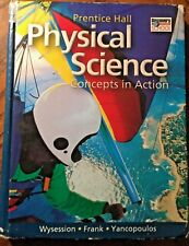 Prentice Hall Physical Science Concepts Action 2004 USED ACCEPTABLE 0130699888