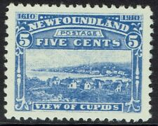 NEWFOUNDLAND 1910 300TH ANNIVERSARY 5C VIEW