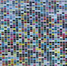 Gerhard Richter 1025 Farben (colors) LARGE 47x47 ORIGINAL OFFSET LITHOGRAPH