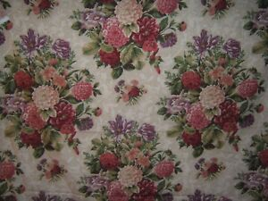Kravet Couture, Bernay Roses, AKA Emma, Floral Boquets, BTY, Various Clrs