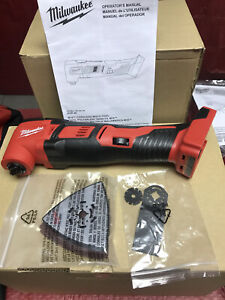 Milwaukee M18 2626-20 Cordless Multi-Tool Oscillating 18 Volt 18V w/ accessories